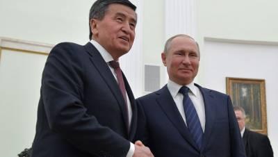 Козак отправился в Киргизию по поручению Путина