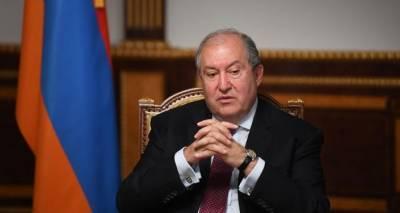 Обе стороны конфликта доверяют России как посреднику – президент Армении