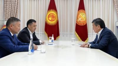 Премьер Киргизии ожидает скорой отставки президента Жээнбекова