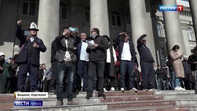 Быстро не получается: премьер Киргизии не договорился с президентом о его отставке