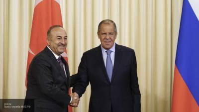 Лавров и Чавушоглу по телефону обсудили ситуацию в Ливии, САР и на Украине