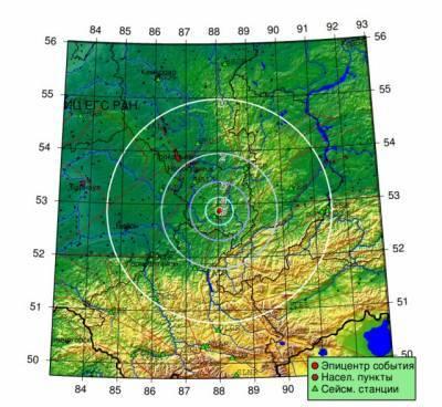 В Кузбассе зарегистрировали второе землетрясение за сутки