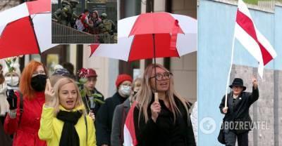 В Минске женщины и студенты вышли на марш: задержали десятки человек. Фото и видео | Мир | OBOZREVATEL