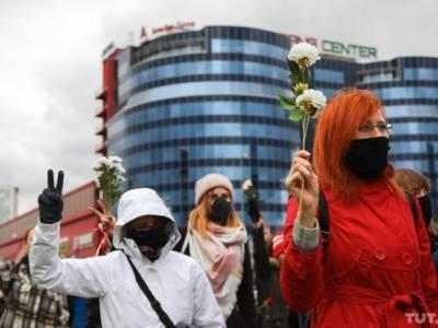 Марши в Беларуси: в Минске сегодня задержали около 30 человек