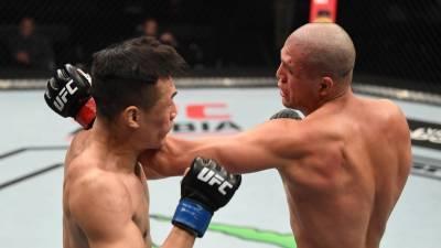 Ортега победил Чон Чхан Сона в главном бою турнира UFC Fight Night