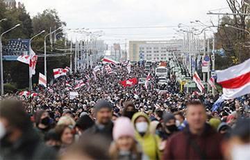Таймлапс: Масштаб Партизанского марша впечатляет