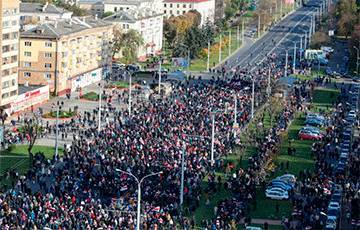 Большой фоторепортаж с Партизанского марша в Минске