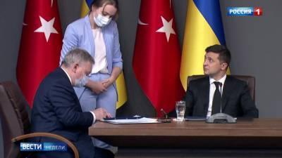 Есть квадрига: встречи Владимира Зеленского