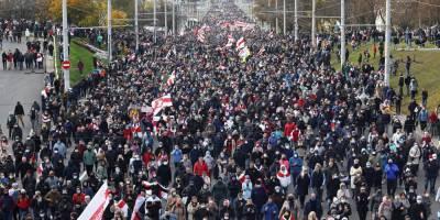 Партизанский марш. Количество задержанных на протестах в Беларуси превысило 200 человек