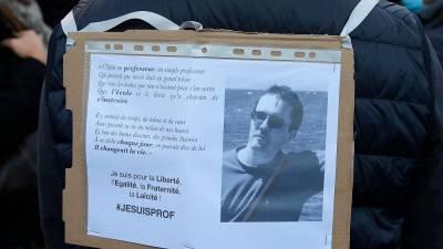"""В отношении Самюэля Пати была """"выпущена фетва"""", призывающая к его убийству (МВД Франции)"""