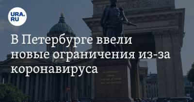 В Петербурге ввели новые ограничения из-за коронавируса. «Есть после 23:00 вредно»