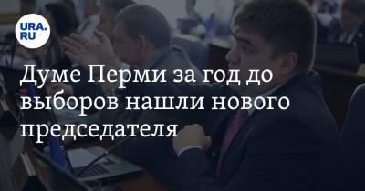 Думе Перми за год до выборов нашли нового председателя