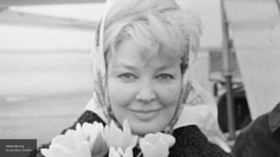 Народную артистку РСФСР Ирину Скобцеву похоронят на Новодевичьем кладбище