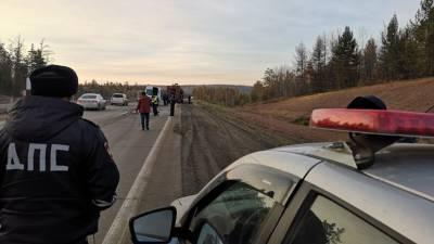 В результате ДТП в Иркутской области пострадали шесть человек