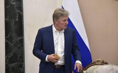 Песков: взаимодействие спецслужб никак не связано с событиями в Беларуси