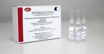 """Минздрав уточнил порядок применения второй COVID-вакцины """"Вектора"""""""