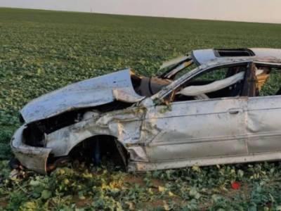В Николаевской области перевернулся BMW: водитель погиб на месте