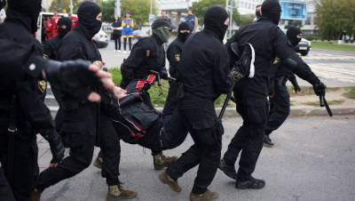 В Минске на протестной акции правоохранители задержали 11 человек