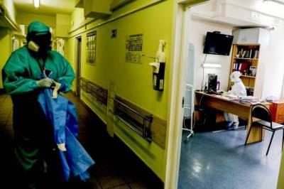 В России за сутки выявлено более 10 тысяч новых случаев заражения COVID-19