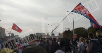 Около 70 тысяч человек вышли на протесты в Минске