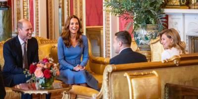 Встреча Владимира Зеленского с принцем Уильямом и Кейт Миддлтон -фото - ТЕЛЕГРАФ