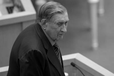 Умер бывший сенатор Владимир Долгих