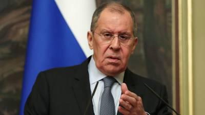Лавров: ЕС угрожает России санкциями из-за Навального без суда и следствия