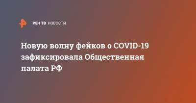 Новую волну фейков о COVID-19 зафиксировала Общественная палата РФ
