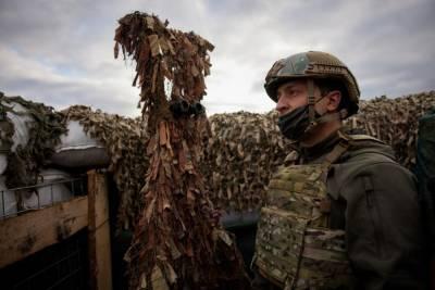 Общение с Зеленским обернулась для украинских военных обсервацией