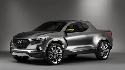 Стали известны сроки премьеры пикапа Hyundai Santa Cruz