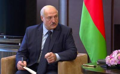 Лукашенко грубо высказался о Зеленском