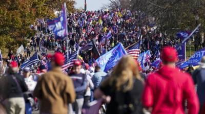 В США снова начались протесты сторонников Трампа