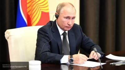 Путин отметил важность прекращения боевых действий в Нагорном Карабахе