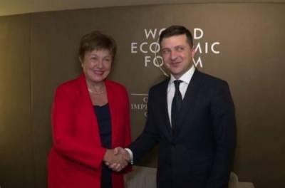 Глава МВФ осталась довольна разговором с Зеленским: что пообещал Президент