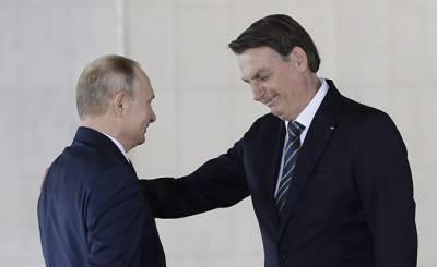 Yle (Финляндия): Путин оценил мужественность своего бразильского коллеги — в соцсетях шутят о «бромансе» президентов