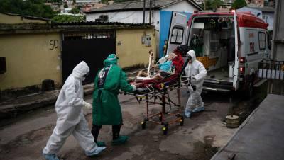 Число случаев COVID-19 в Бразилии превысило 6 млн
