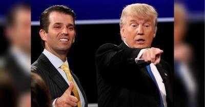 У Трампа снова коронавирус: сын президента США получил положительный текст на SARS-CoV-2