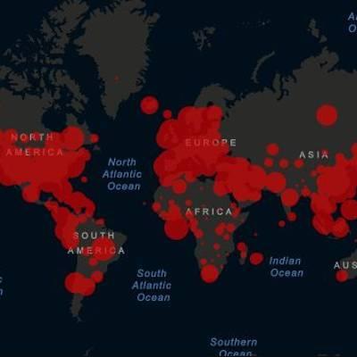 Число заражений COVID-19 в мире превысило 57,5 млн случаев