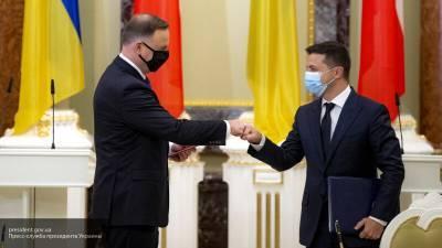 Украина при Зеленском живет на европейском подножном корме