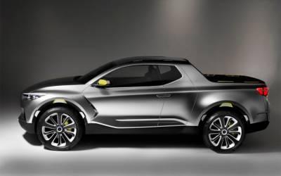 Hyundai рассказала о первом серийном пикапе Santa Cruz