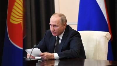Путин отметил усилия миссии ООН по урегулированию ситуации в ЦАР