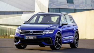 Volkswagen представил новый кроссовер Tiguan R