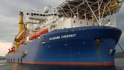 Трубоукладчик «Северного потока — 2» возвращается из Германии в Калининград