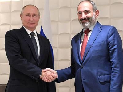 «Дважды за час»: Пашинян рассказал, что постоянно созванивается с Путиным