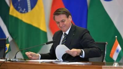 Глава Бразилии уверен в фальсификации на выборах США
