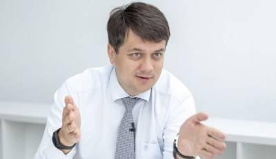 Спикер Верховной рады Украины объявил, что излечился от коронавируса