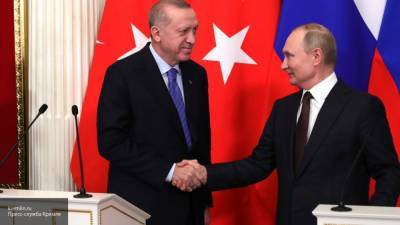 Песков: Путин и Эрдоган обсуждали тему Нагорного Карабаха