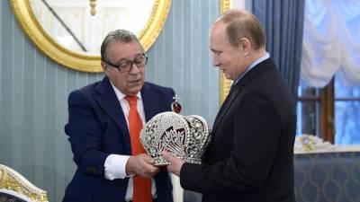 Путин отметил темперамент и оптимизм празднующего юбилей Хазанова