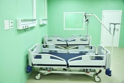 Инфекционное отделение строящегося в Южно-Сахалинске военного госпиталя сдадут в декабре