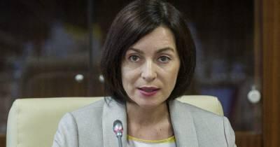 Избранный президент Молдовы Санду приедет в Украину в январе 2021